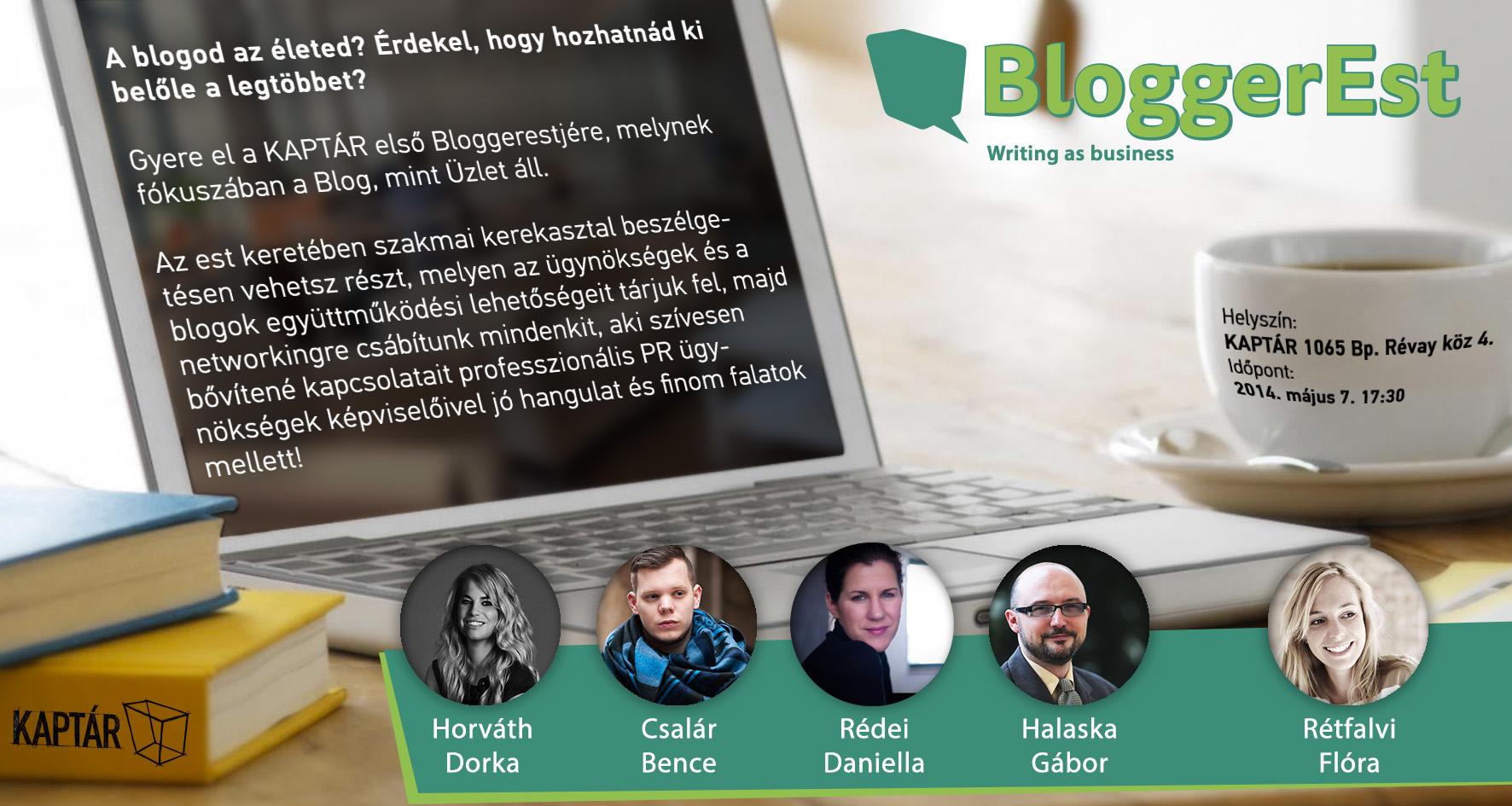 Blogger Est a KAPTÁRban