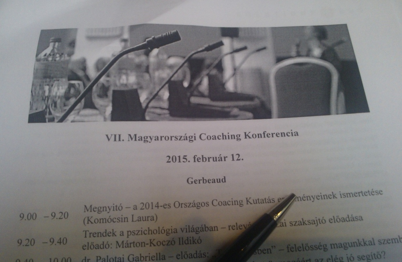 7. Magyarországi Coaching Konferencia