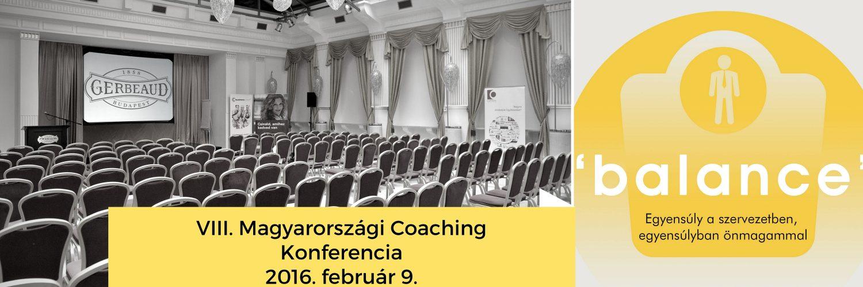 VIII. Magyarországi Coaching Konferencia