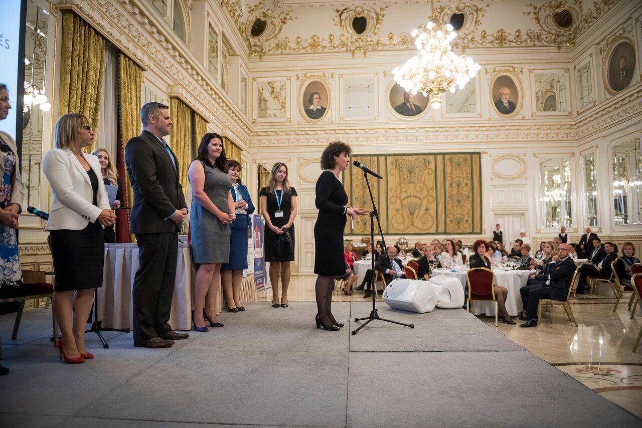 PWA konferencia díjazottai