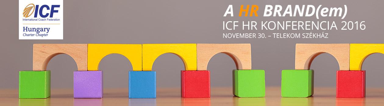 HR BRAND(em) - ICF konferencia 2016