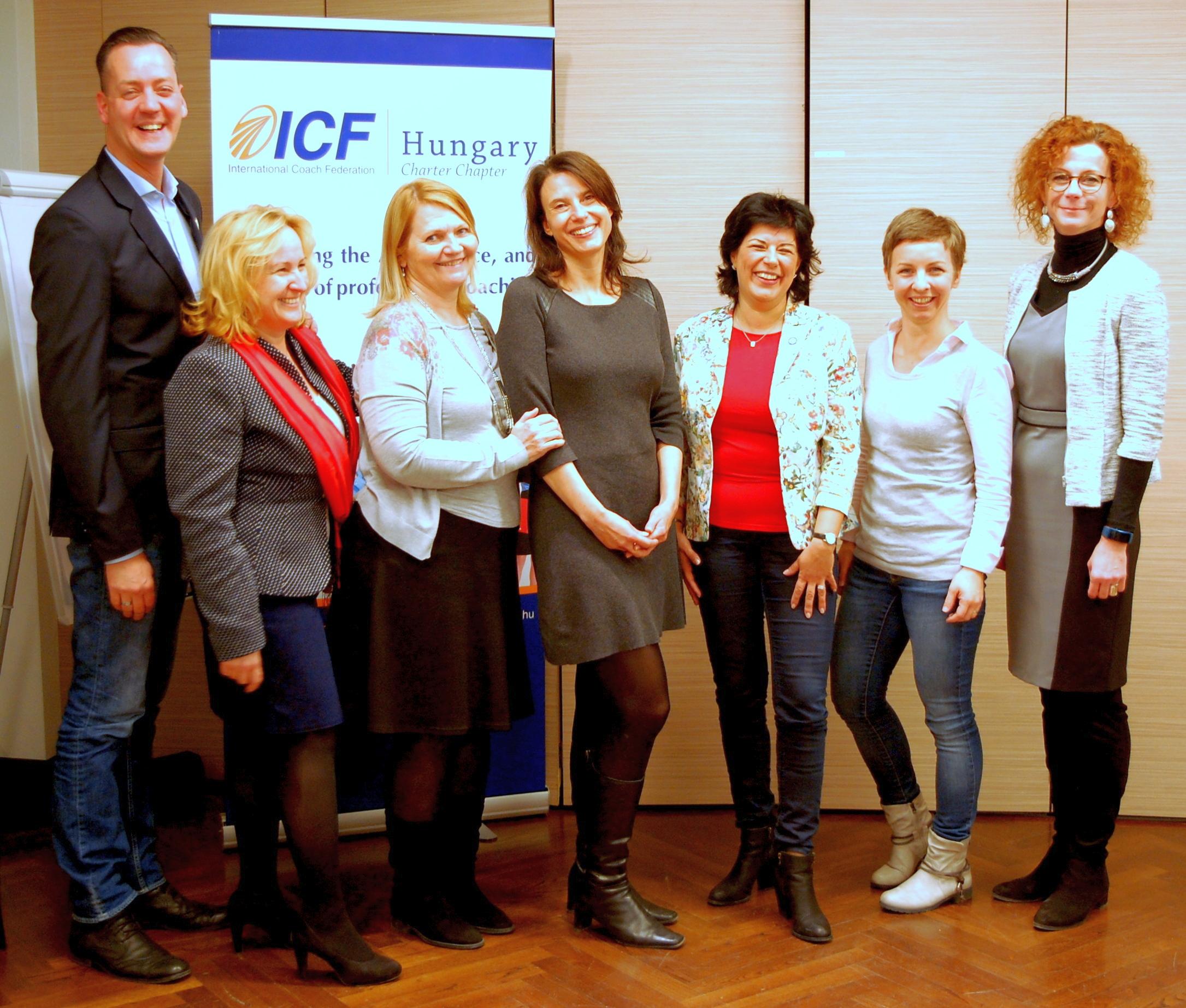 Az ICF Magyar Tagozata 2017. évi elnöksége